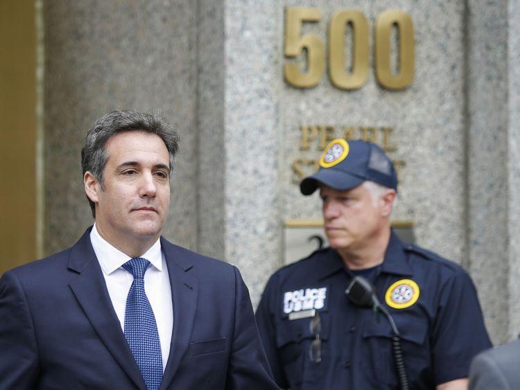 Michael Cohen était jadis l'avocat personnel et le confident du président Donald Trump