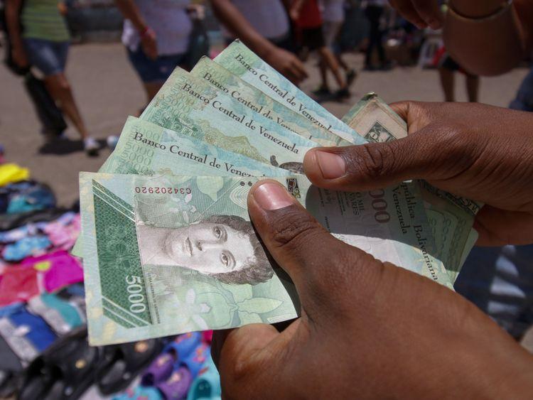 Le Venezuela est au cœur d'une crise économique