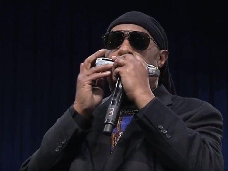 Stevie Wonder a fermé les hommages à Aretha Franklin