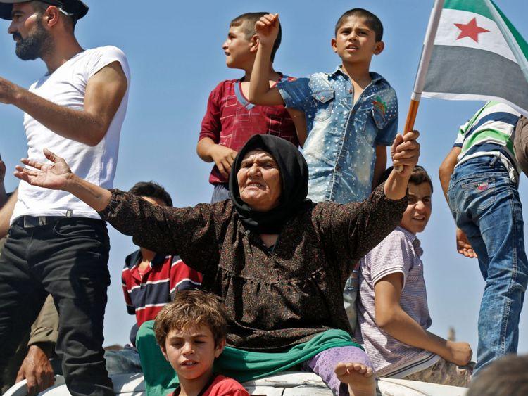 L'ONU dit que 800 000 personnes risquent d'être déplacées