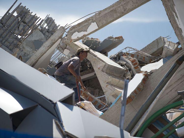 Des milliers de bâtiments ont été détruits après la catastrophe