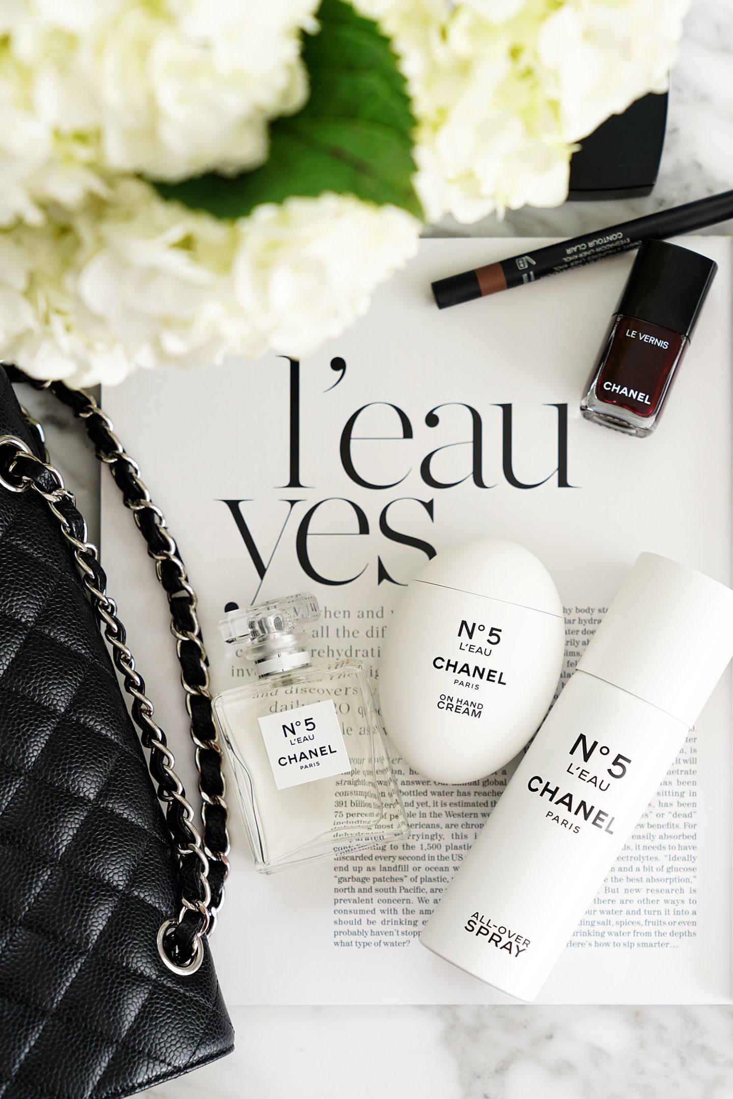 Chanel No5 L'eau crème pour les mains, spray pour le corps et eau de toilette