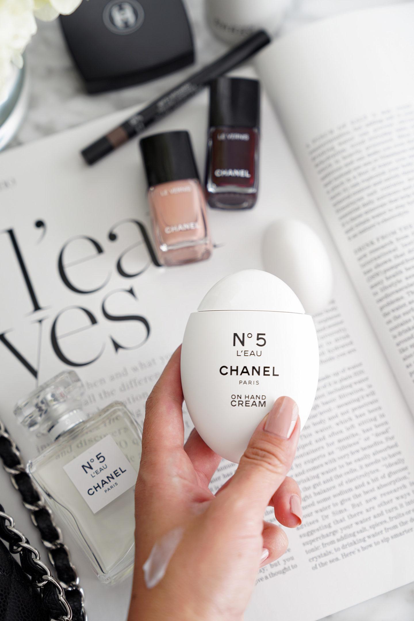 Chronique de la crème Chanel No 5 L'Eau On Hand