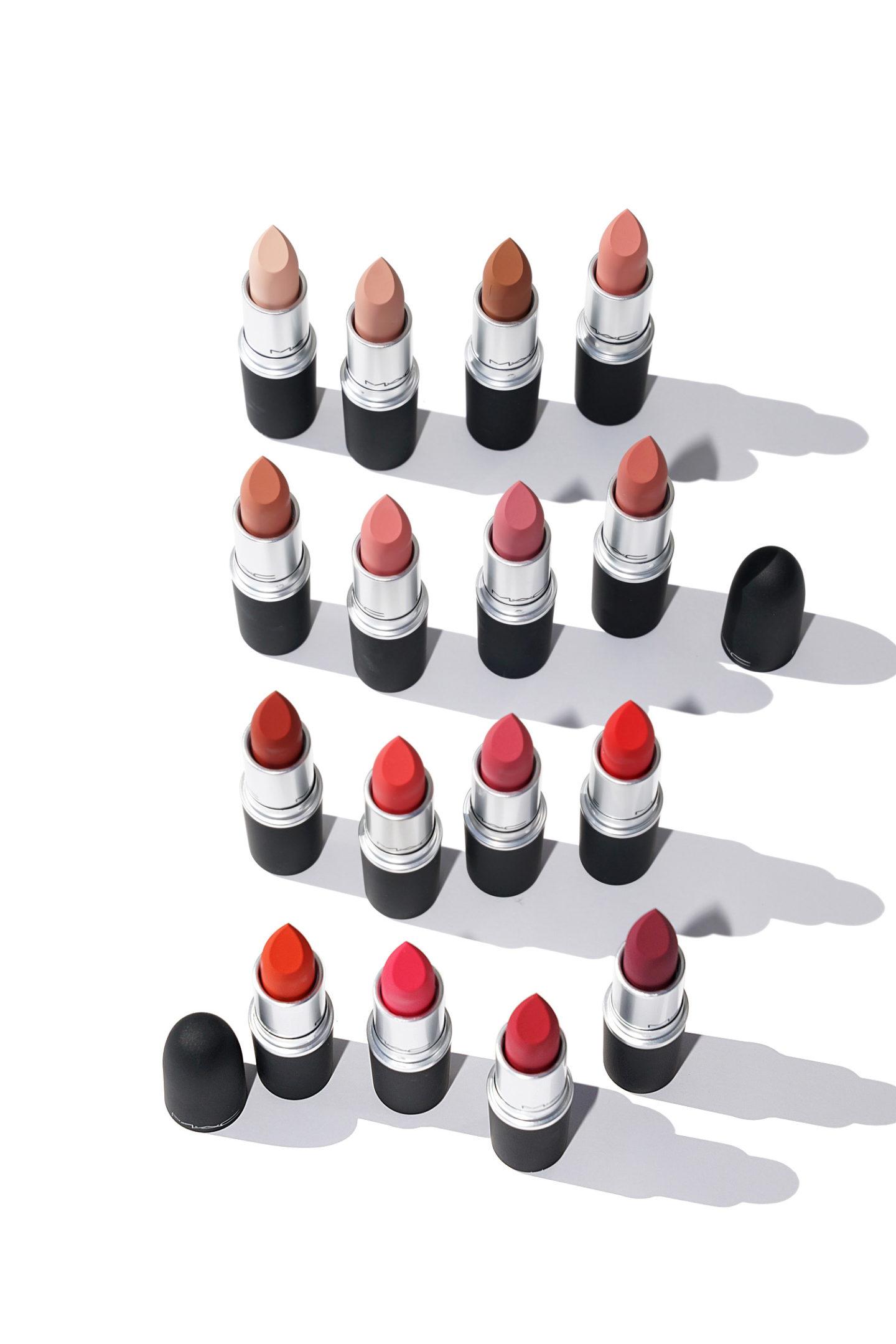 Revue du rouge à lèvres et des échantillons de MAC Powder Kiss