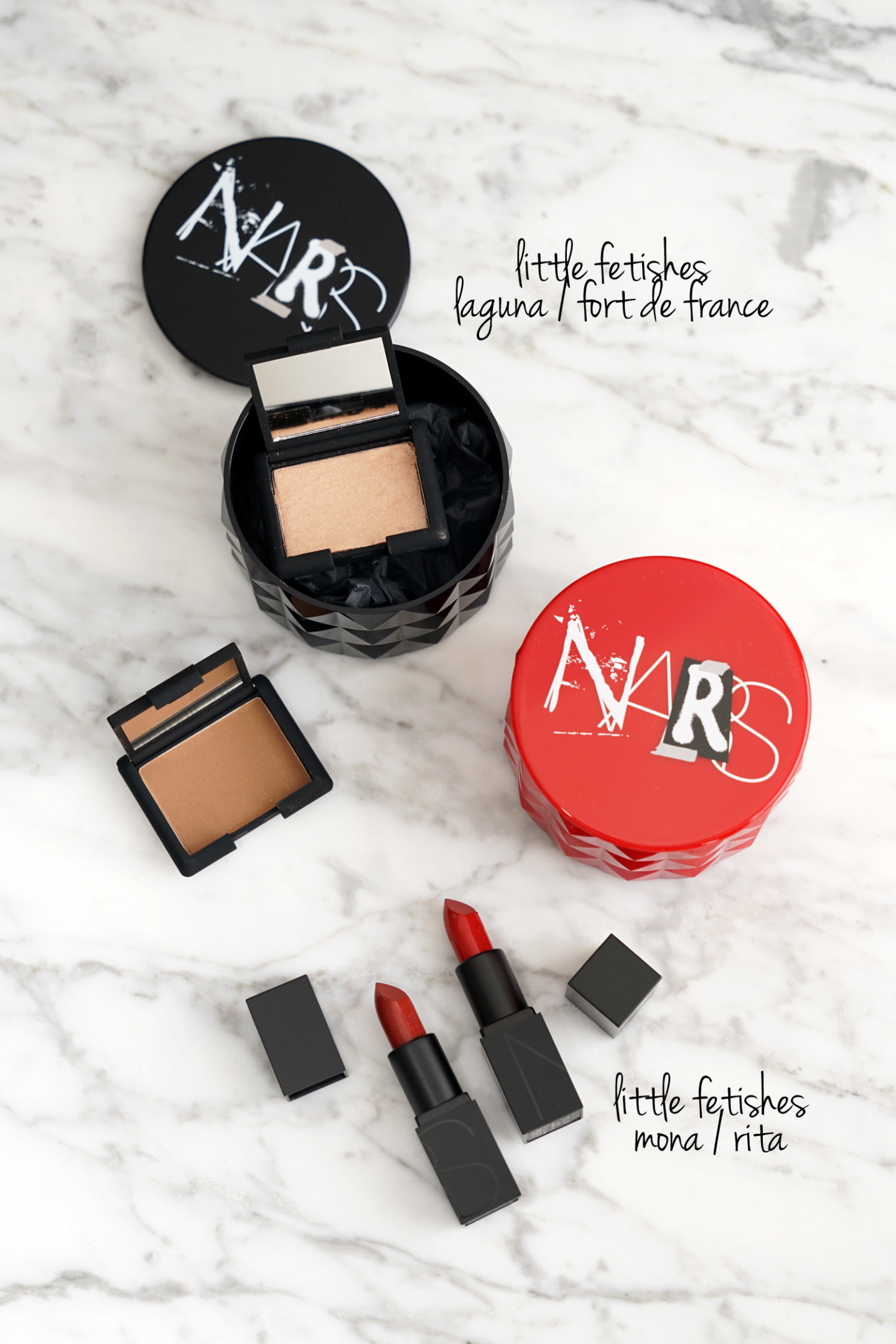 NARS Little Fetishes Laguna et Fort de France