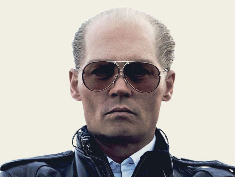 Johnny Depp en tant que chef de la mafia de Boston, Whitey Bulger