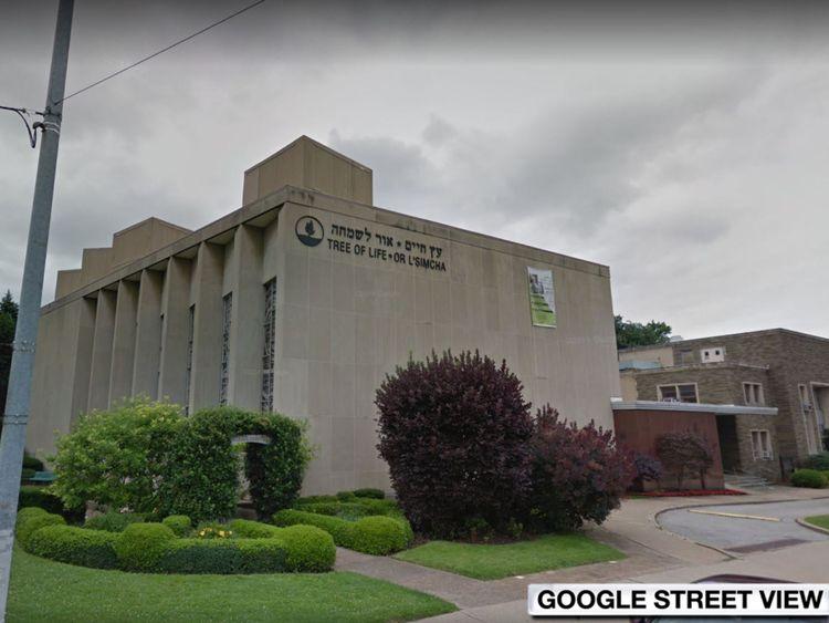 La fusillade a eu lieu à ou près de la synagogue de la Tree of Life à Pittsburgh.