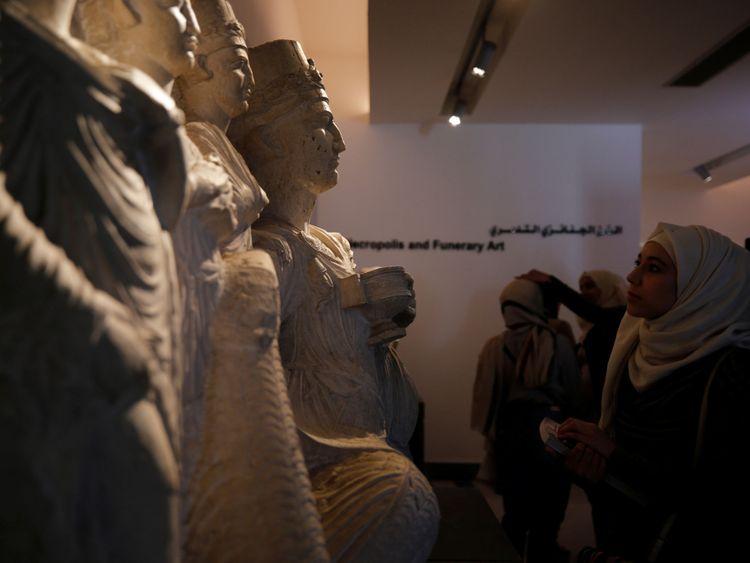 Nous espérons que davantage de musées syriens pourront être rouverts dans les années à venir.