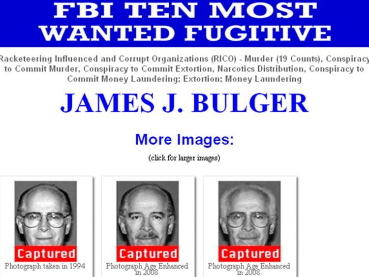 Bulger était l'un des hommes les plus recherchés du FBI