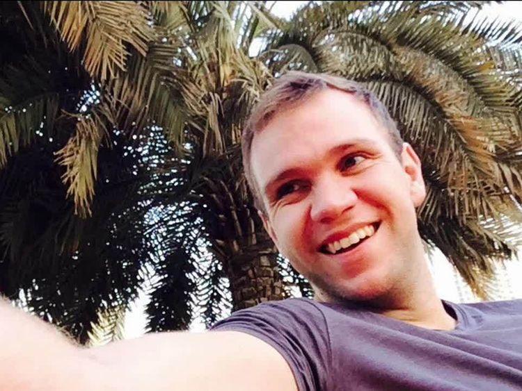 Matthew Hedges, 31 ans, a été arrêté à l'aéroport de Dubaï le 5 mai et accusé d'espionnage aux Émirats arabes unis.