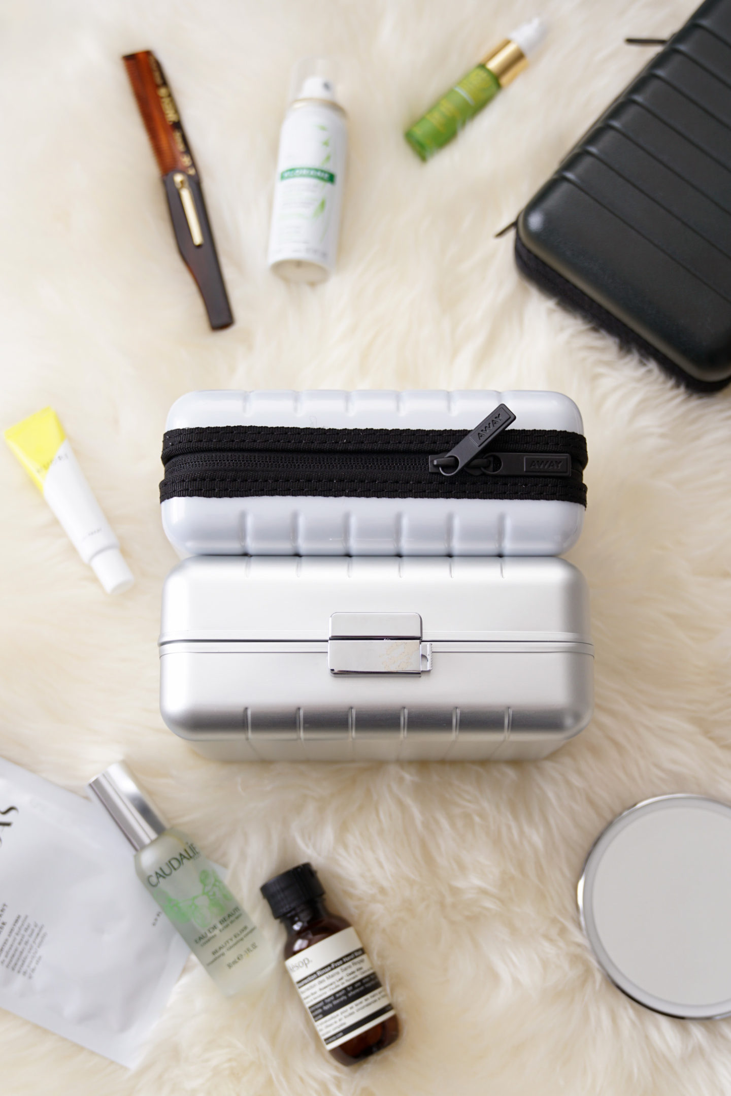 Meilleurs mini-valises de voyages à l'étranger   Le look book beauté