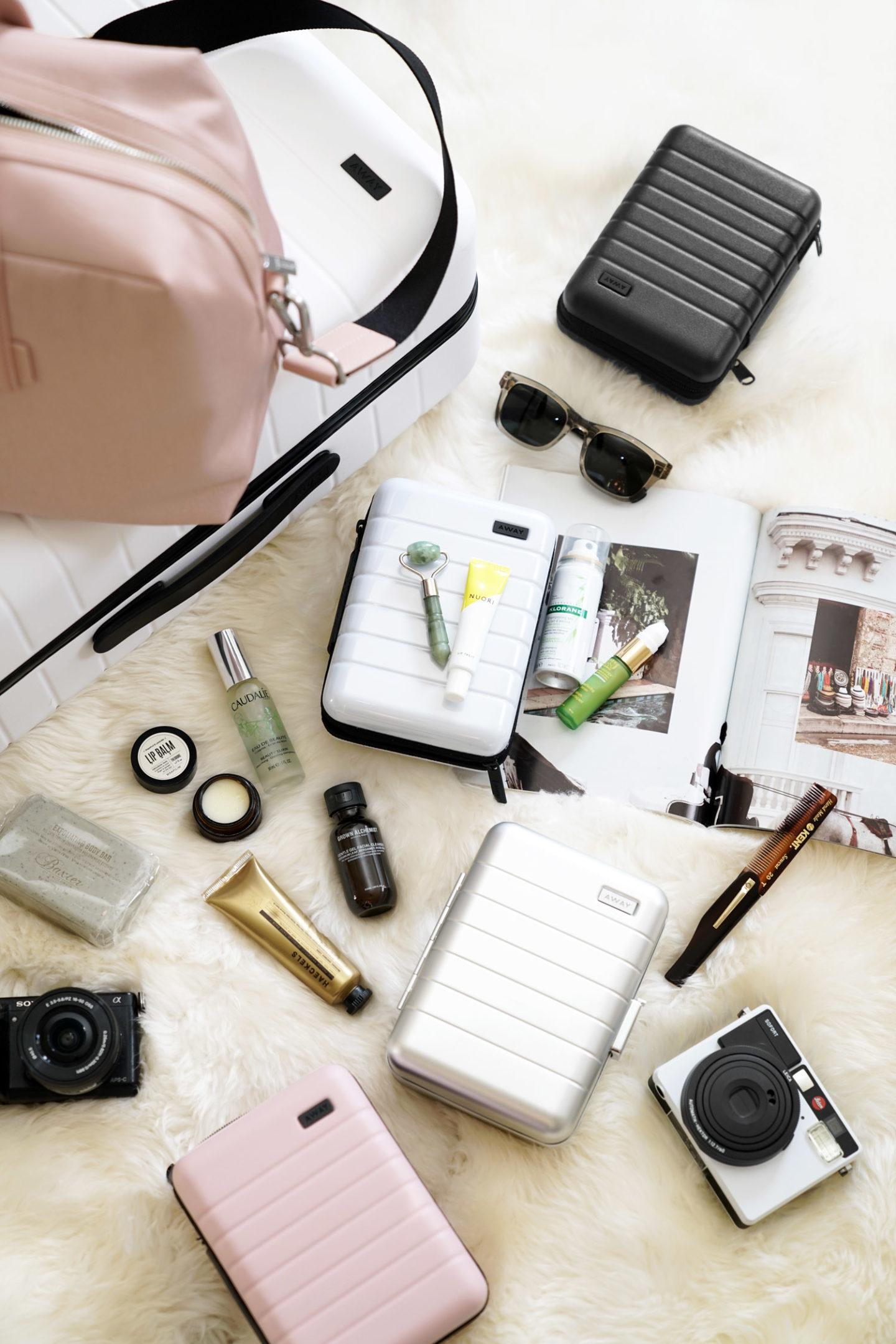 Away Mini Suitcase Review Guide de cadeaux de voyage   Le look book beauté