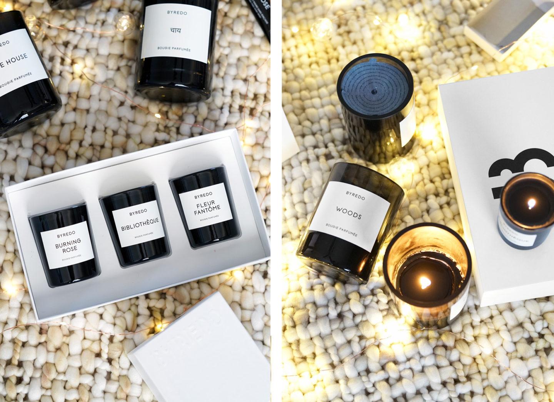 Trio de bougies Violette La Selection Byredo La