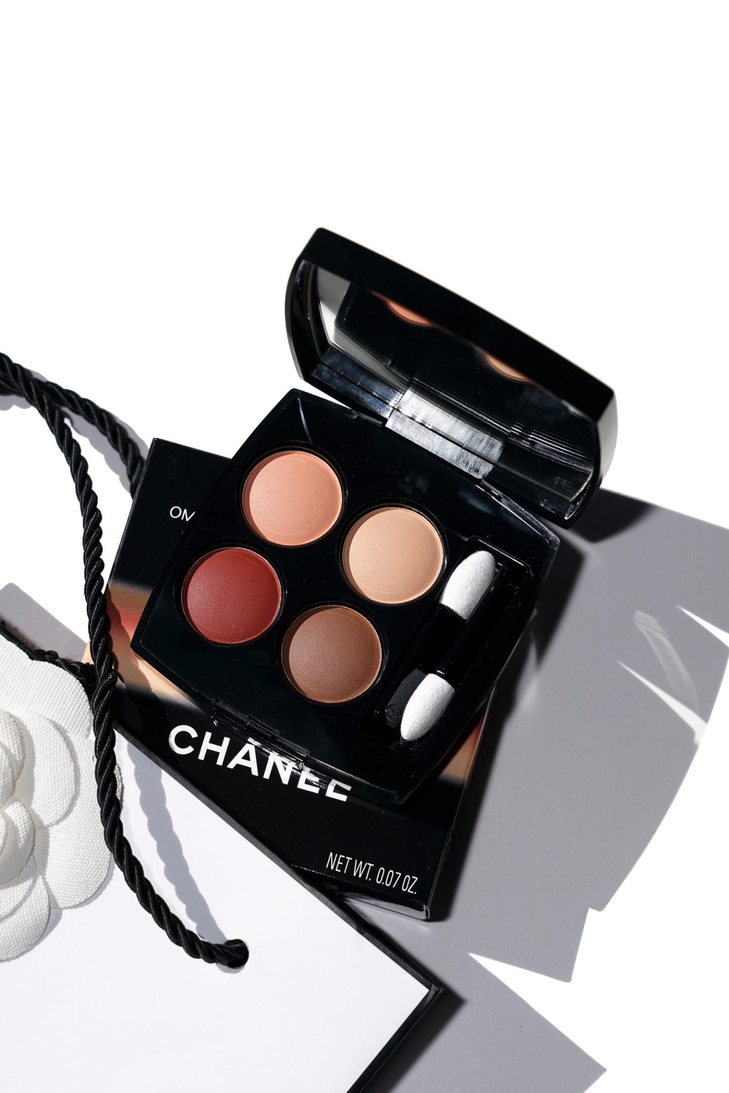 Chanel Legerete Et Experience Fard À Paupières Quad - Les 4 Ombres | Le look book beauté