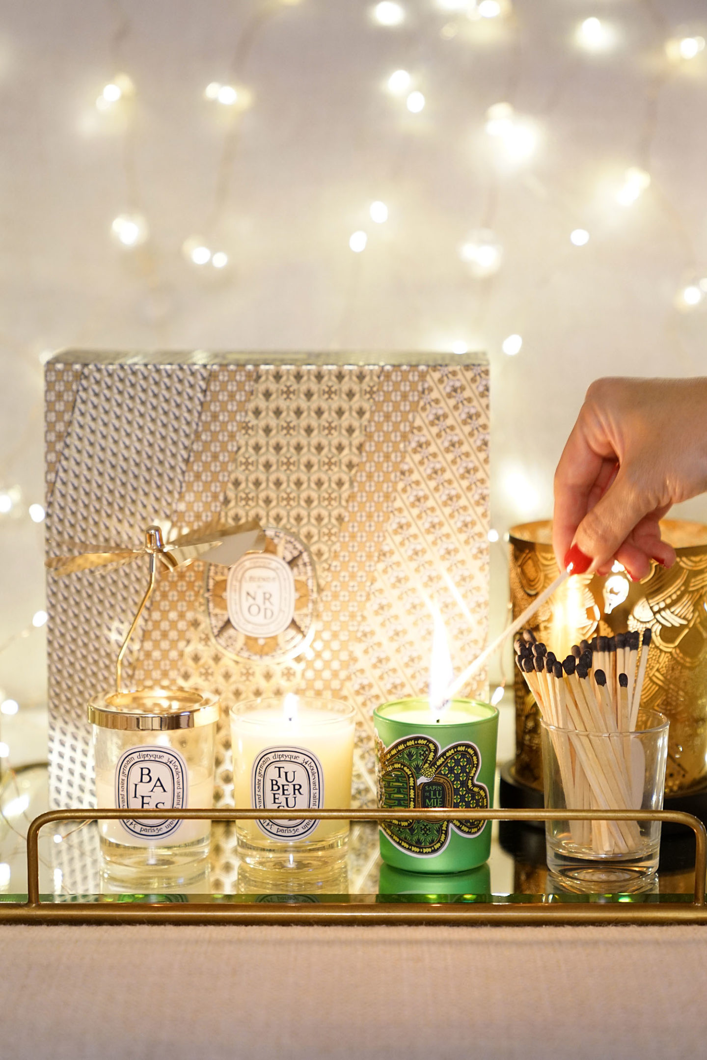 Diptyque Holiday Carousel et Sapin Candle Holiday 2018
