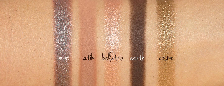 Échantillons de Natasha Denona Mini Star Palette