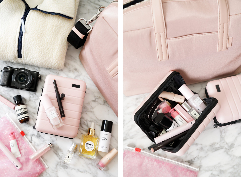 Away Mini Valise Millenial Pink Review   Le look book beauté