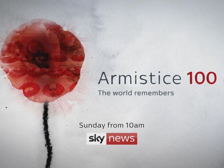 Sky News aura une couverture de Londres le jour de l'Armistice