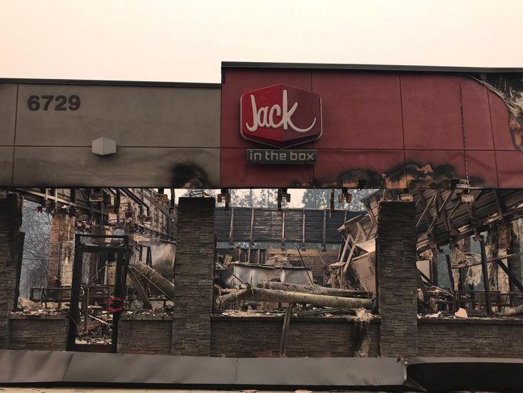 Jack in the Box possède des restaurants de restauration rapide dans 21 États