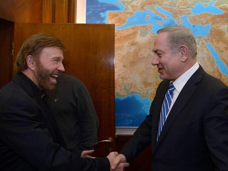Norris rencontre le Premier ministre israélien Benjamin Netanyahu