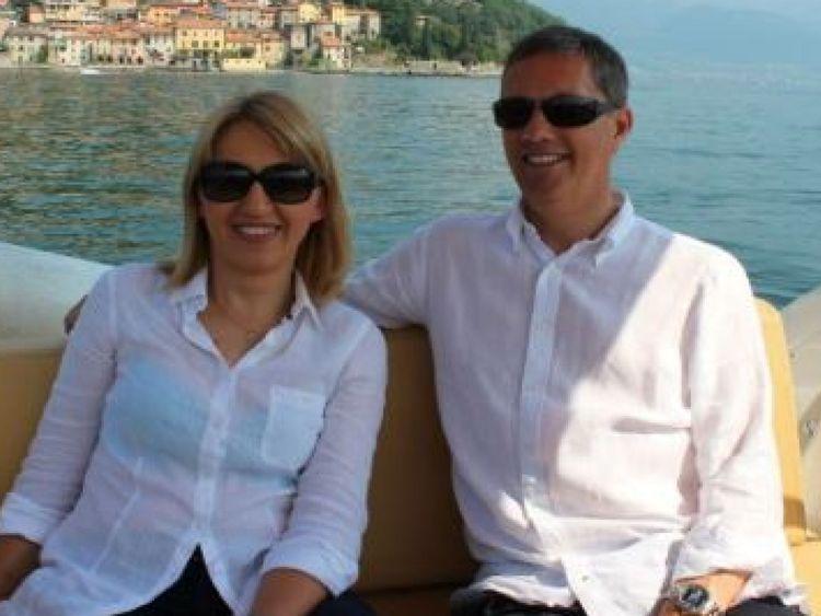 Eric Swaffer et sa partenaire Izabela Roza Lechowicz. Pic: Lucie Morris-Marr