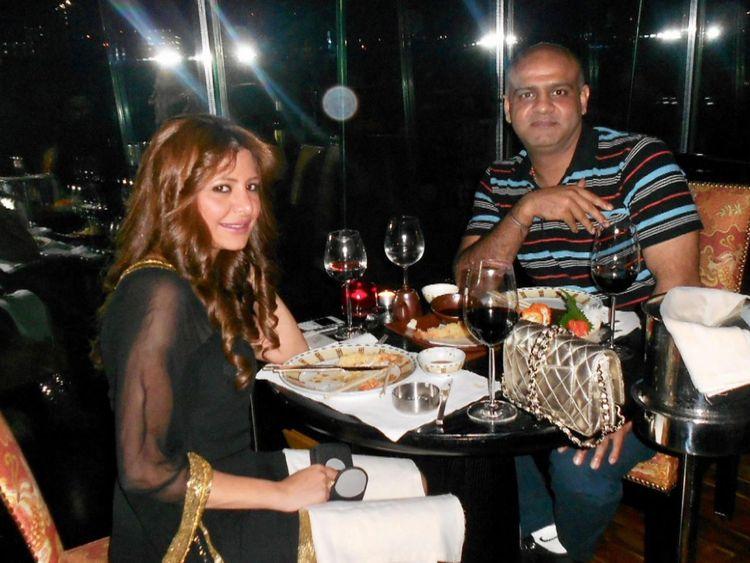 Le couple a vécu la grande vie à Dubaï