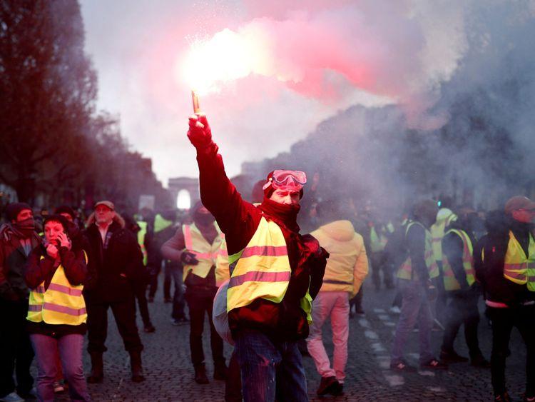 Les manifestations du week-end dernier ont attiré environ 250 000 personnes.