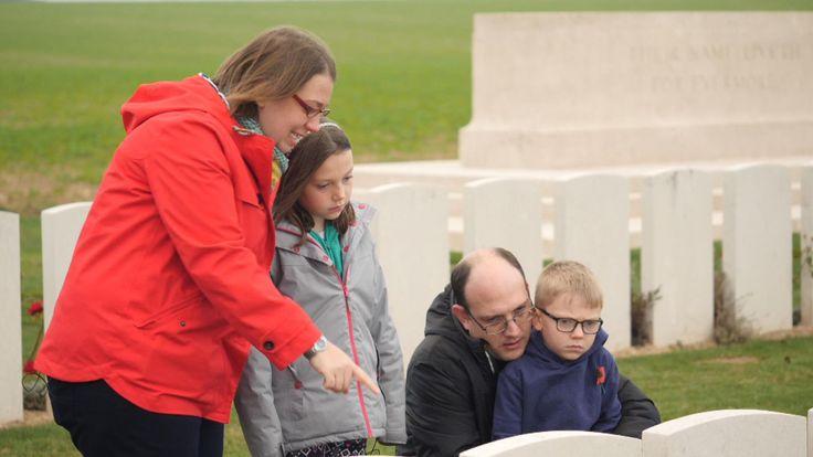 Sky News saisit le mémorial de la 1ère guerre mondiale en France