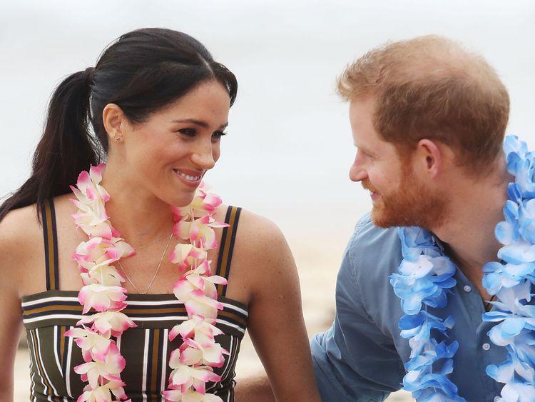 Le prince Harry, duc de Sussex et Meghan, la duchesse de Sussex, assisteront à XXX le 19 octobre 2018 à Sydney, en Australie. Le duc et la duchesse de Sussex en sont à leur tournée officielle d'automne de 16 jours dans des villes d'Australie, de Fidji, de Tonga et de Nouvelle-Zélande.