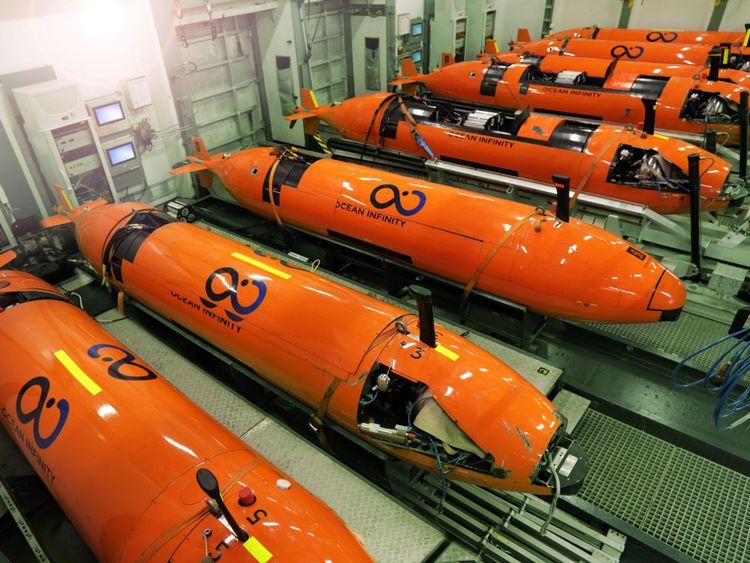 Véhicules sous-marins automatisés utilisés pour la chasse au San Juan
