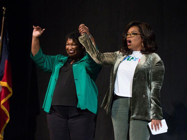 Oprah Winfrey soutient Stacey Abrams pour le gouverneur de Géorgie
