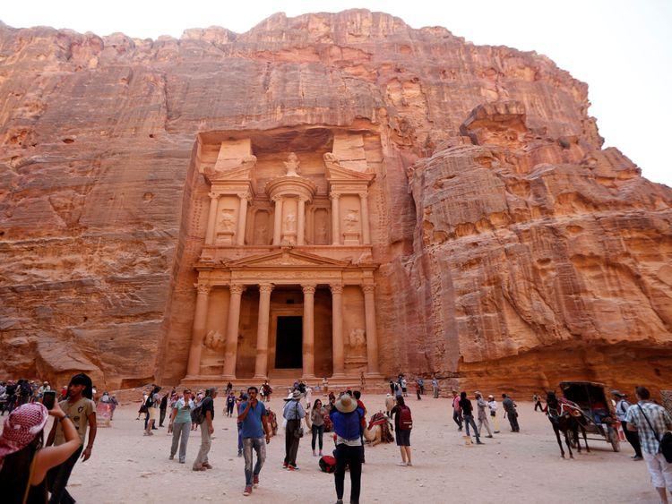 La ville antique de Petra est populaire auprès des touristes