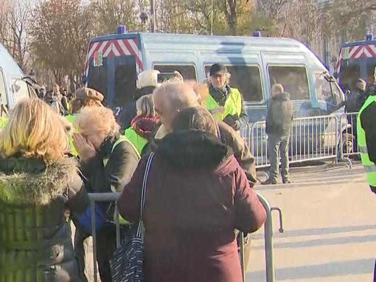 Adele Robinson était à Paris pour les manifestations