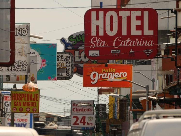 Tapachula, près de la frontière entre le Mexique et le Guatemala