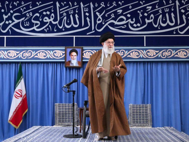 Le guide suprême iranien, l'ayatollah Ali Khamenei