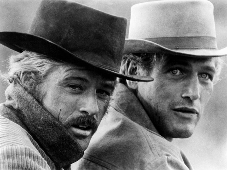 Robert Redford et Paul Newman dans Butch Cassidy et le Sundance Kid - scénariste William Goldman