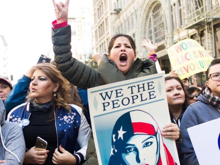 Depuis que Trump a été élu, l'activisme chez les femmes a augmenté