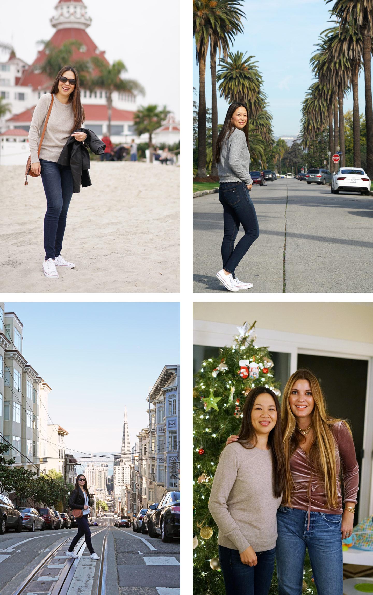 Noël en Californie à San Diego, Los Angeles et San Francisco | Le look book beauté