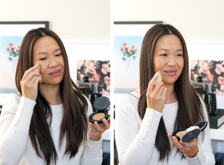 Fond de teint radieux Cle de Peau en échantillon de visage O30 | Le look book beauté
