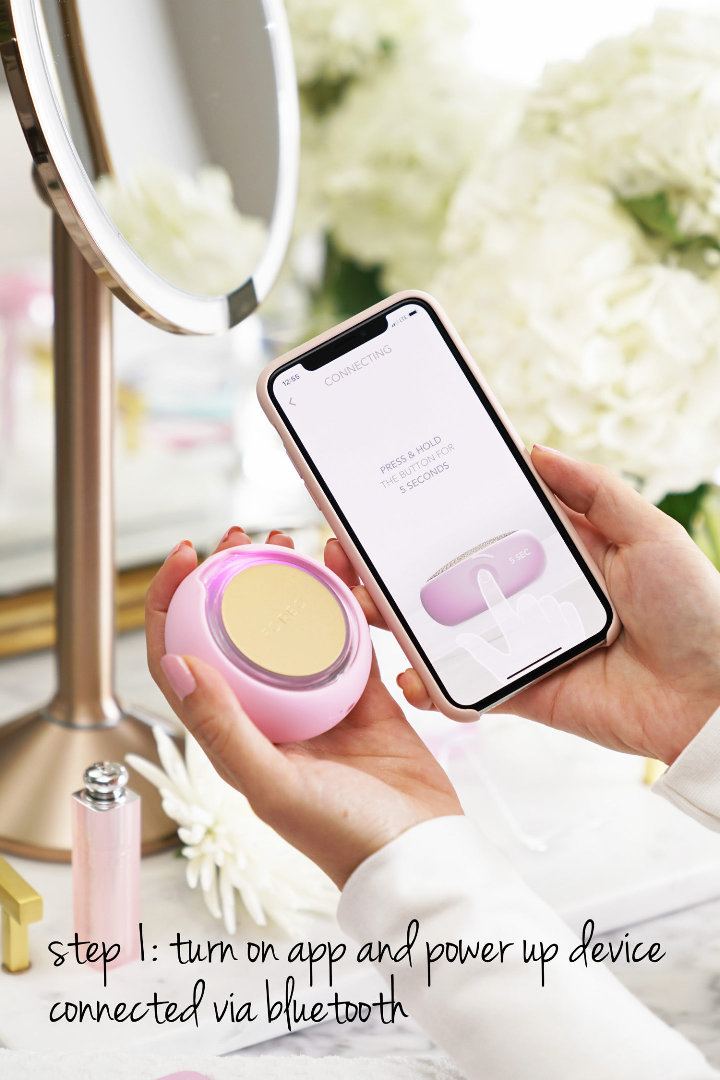 Démo Foreo UFO Smart Mask