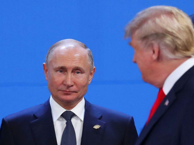 Les présidents Poutine et Trump participent tous deux au G20 mais aucune réunion privée n'est prévue