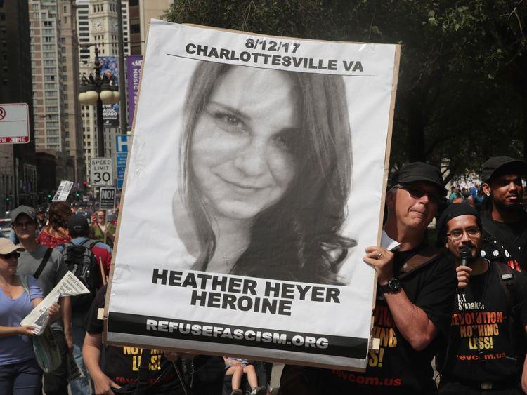 Les hommages rendus à Heather Heyer après sa mort au rassemblement