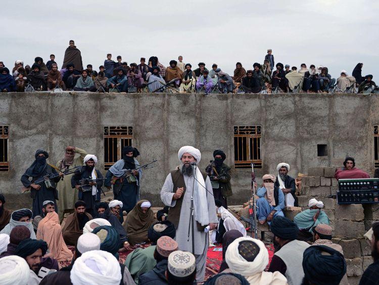 Mullah Abdul Manan était le plus haut dirigeant des talibans dans le sud de l'Afghanistan.