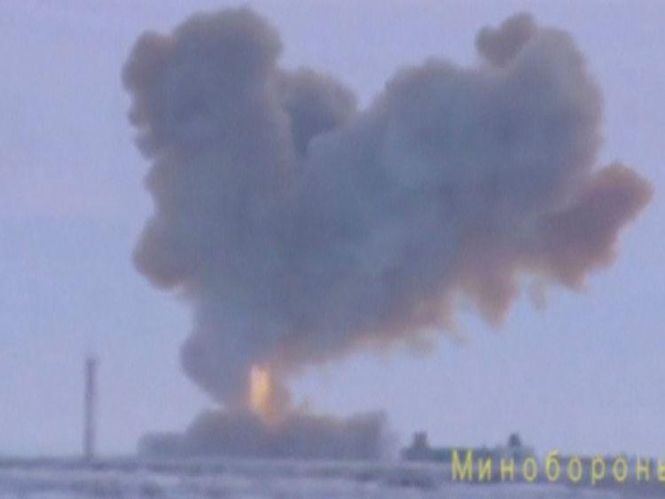 Le missile Avangard a atteint une cible à 3700 km, a annoncé la Russie