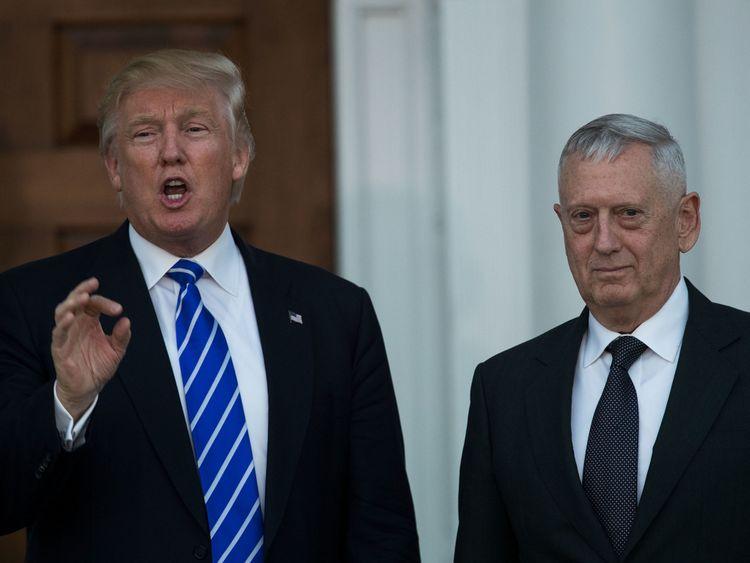 Trump et Mattis se sont disputés la politique