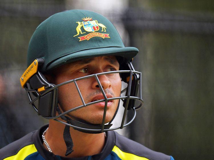Usman Khawaja, qui joue pour l'Australie et le club du Queensland