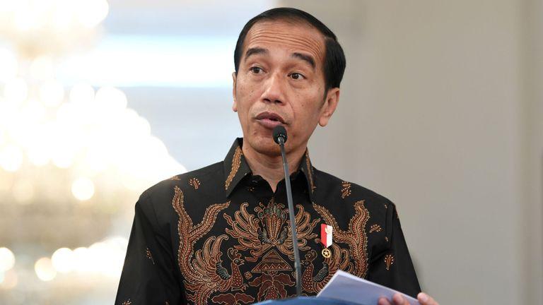 M. Widodo a été accusé par des opposants de ne pas être suffisamment islamique