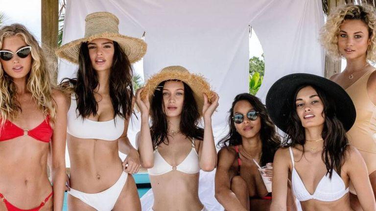 Emily Ratajkowski, Bella Hadid et Jasmine Tookes ont rejoint la campagne de promotion