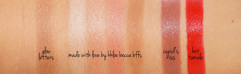 Becca BFF Fabriqué avec amour par Khloe swatches | Le look book beauté