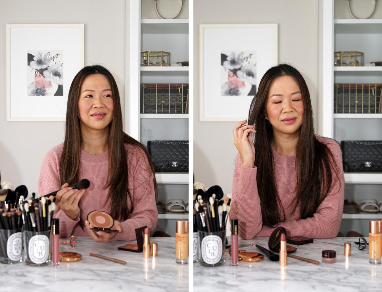 Charlotte Tilbury - Échantillon de maquillage avec look de discussion sur les oreillers
